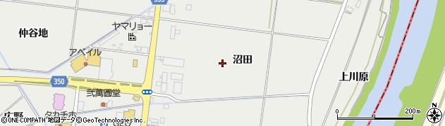 山形県鶴岡市文下(沼田)周辺の地図