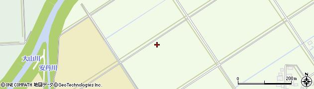 山形県鶴岡市林崎(道田)周辺の地図