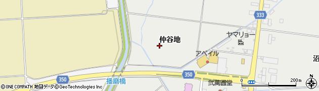 山形県鶴岡市文下(仲谷地)周辺の地図