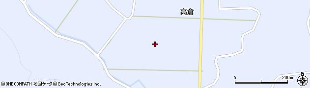 岩手県一関市花泉町永井(新高倉)周辺の地図