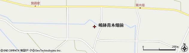 宮城県栗原市一迫嶋躰青木畑前周辺の地図