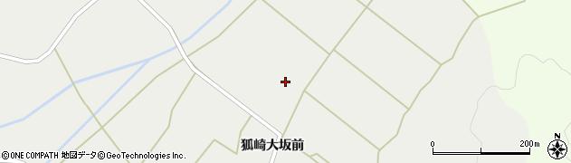 宮城県栗原市一迫狐崎与六浦周辺の地図