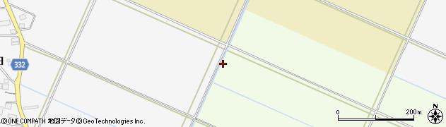 山形県鶴岡市小京田(沖)周辺の地図