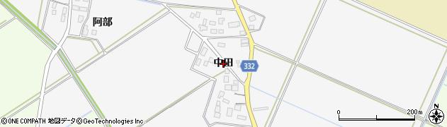 山形県鶴岡市福田(中田)周辺の地図