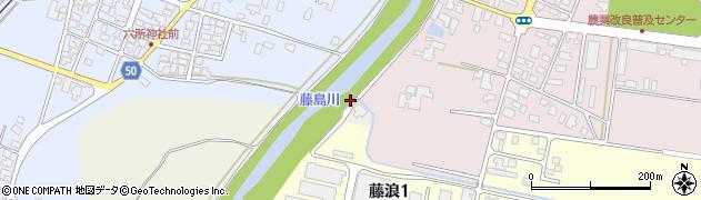 山形県鶴岡市古郡(道橋)周辺の地図