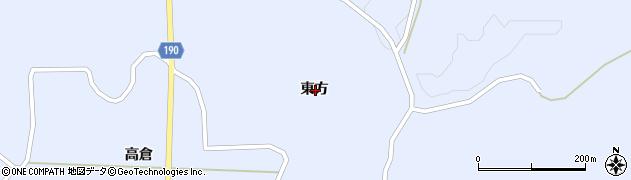 岩手県一関市花泉町永井東方周辺の地図