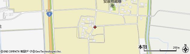 山形県鶴岡市播磨(上堤)周辺の地図