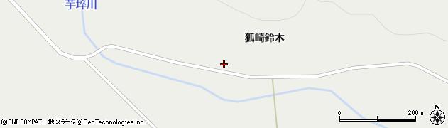 宮城県栗原市一迫北沢王沢周辺の地図