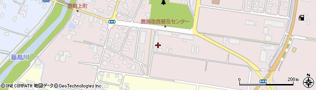 山形県鶴岡市藤島(山ノ前)周辺の地図