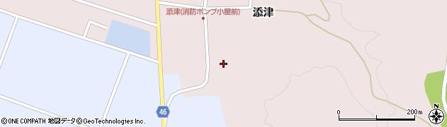 山形県東田川郡庄内町添津諏訪下18周辺の地図