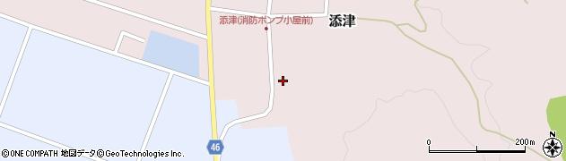 山形県東田川郡庄内町添津諏訪下30周辺の地図