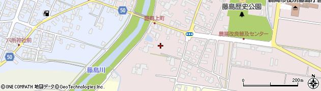 山形県鶴岡市藤島(村東)周辺の地図