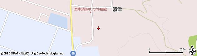 山形県東田川郡庄内町添津諏訪下27周辺の地図