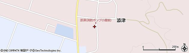 山形県東田川郡庄内町添津諏訪下37周辺の地図