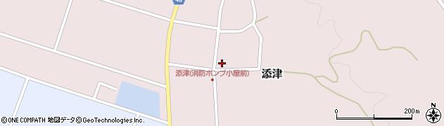 山形県東田川郡庄内町添津諏訪下46周辺の地図