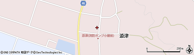 山形県東田川郡庄内町添津諏訪下48周辺の地図