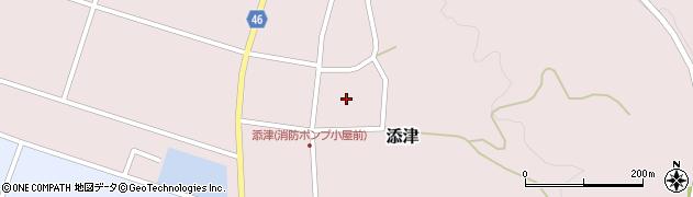 山形県東田川郡庄内町添津諏訪下51周辺の地図