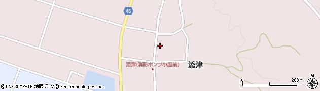 山形県東田川郡庄内町添津諏訪下53周辺の地図