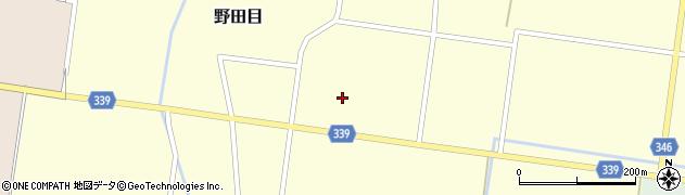 山形県鶴岡市野田目(中堰)周辺の地図
