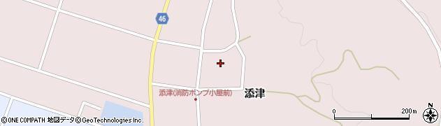 山形県東田川郡庄内町添津諏訪下62周辺の地図
