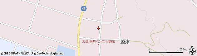 山形県東田川郡庄内町添津諏訪下54周辺の地図