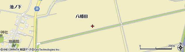 山形県鶴岡市馬町(松葉)周辺の地図