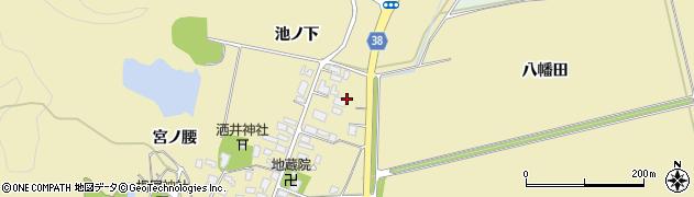 山形県鶴岡市馬町(八幡田)周辺の地図