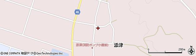 山形県東田川郡庄内町添津諏訪下58周辺の地図