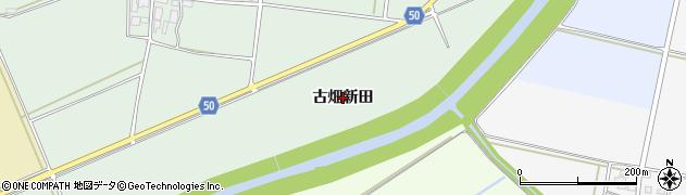 山形県鶴岡市大山(古畑新田)周辺の地図