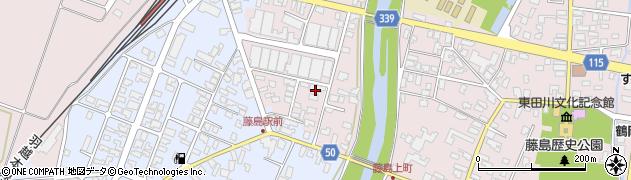 山形県鶴岡市藤島(川向)周辺の地図