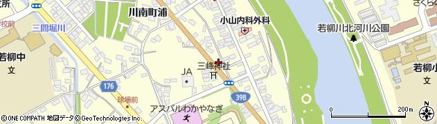 宮城県栗原市若柳川南道伝前周辺の地図