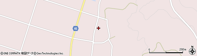 山形県東田川郡庄内町添津家ノ下周辺の地図
