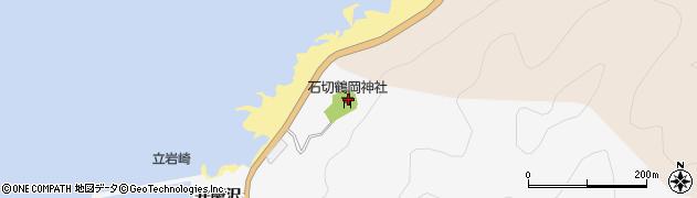 石切鶴岡神社周辺の地図