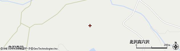 宮城県栗原市一迫北沢一本松18周辺の地図
