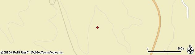 宮城県栗原市花山草木沢合道山周辺の地図