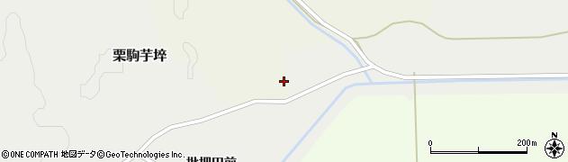 宮城県栗原市栗駒嶺崎嶺崎周辺の地図