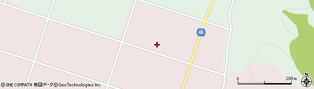 山形県東田川郡庄内町添津石橋周辺の地図