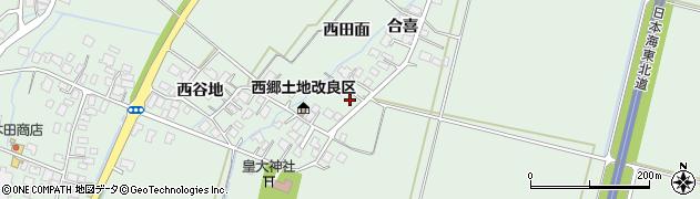 山形県鶴岡市下川(前田元)周辺の地図