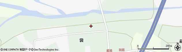 宮城県栗原市志波姫刈敷上袋96周辺の地図