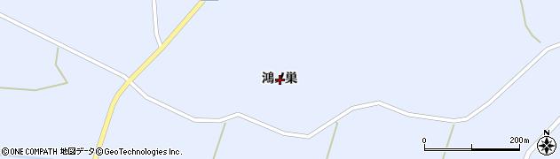岩手県一関市花泉町永井鴻ノ巣周辺の地図