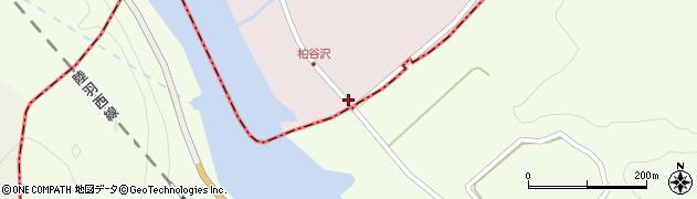山形県酒田市柏谷沢水上沢39周辺の地図