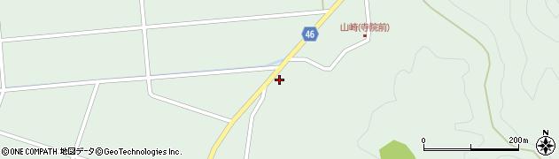 山形県東田川郡庄内町狩川山崎117周辺の地図