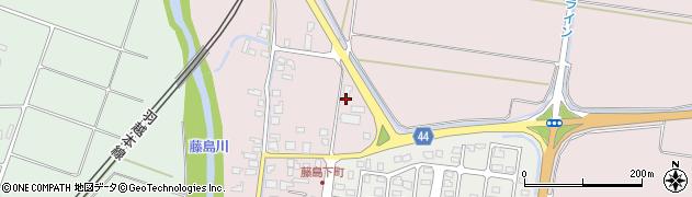 山形県鶴岡市藤島(中細杖)周辺の地図