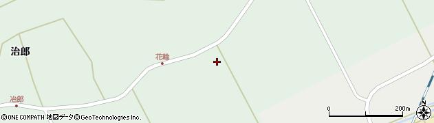 宮城県栗原市志波姫刈敷花輪周辺の地図