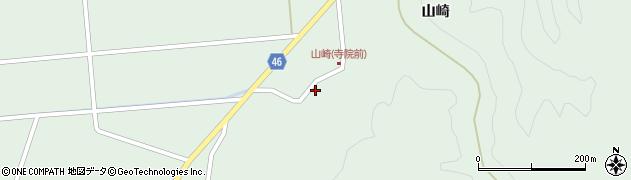 山形県東田川郡庄内町狩川山崎105周辺の地図