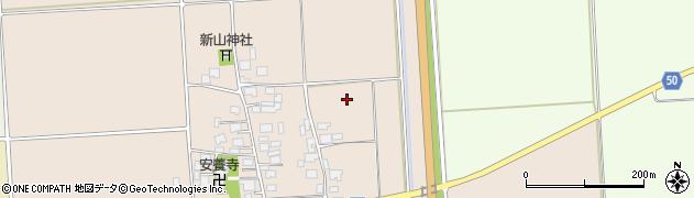 山形県鶴岡市中京田(太夫の越)周辺の地図