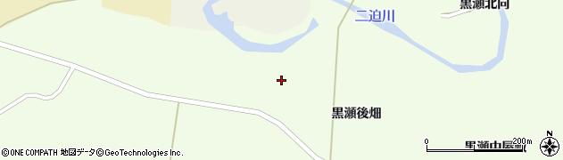 宮城県栗原市築館黒瀬宮浦周辺の地図