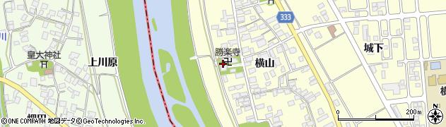 勝楽寺周辺の地図