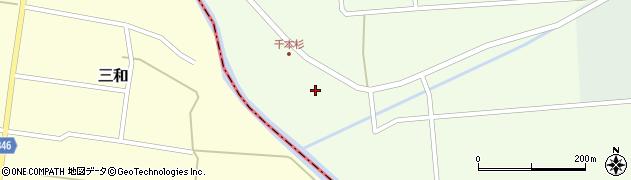 山形県東田川郡庄内町千本杉本村割73周辺の地図