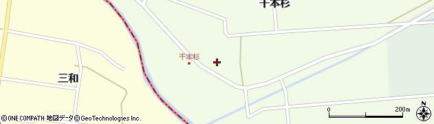 山形県東田川郡庄内町千本杉本村割76周辺の地図